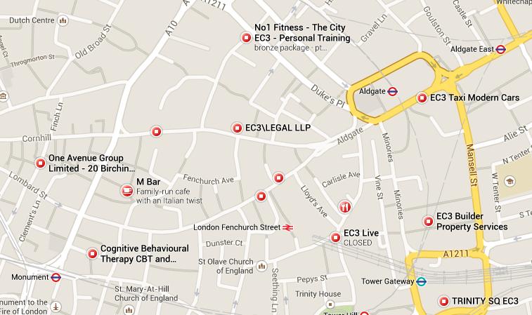 EC3 Map