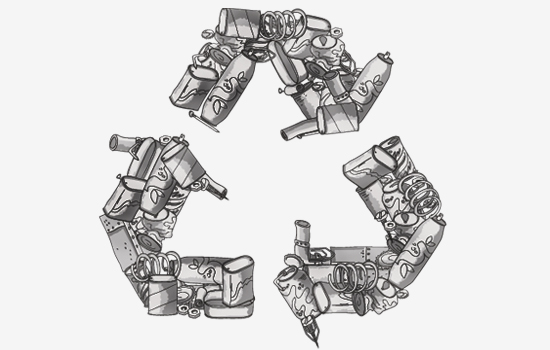 Image result for recycling metal